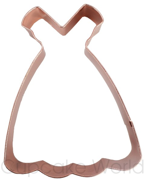 ROBERT GORDON WEDDING DRESS VINTAGE COPPER COOKIE BISCUIT CUTTER