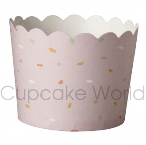 ROBERT GORDON PINK SPRINKLES CRAFTY CUPCAKE BAKING CUPS PETIT 25
