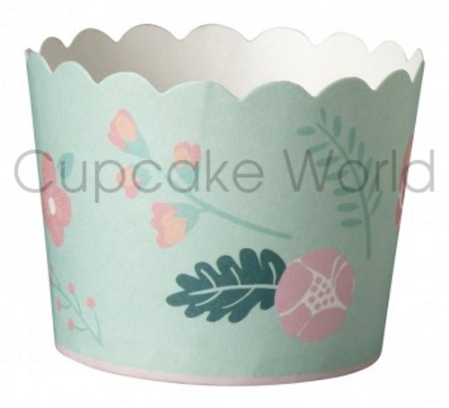 ROBERT GORDON PREMIUM PEACHY BLOOMS MINT BAKING CUPS PETIT 25PCS