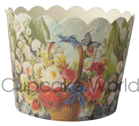 ROBERT GORDON LILY OF THE VALLEY CUPCAKE BAKING CUPS PETIT x25