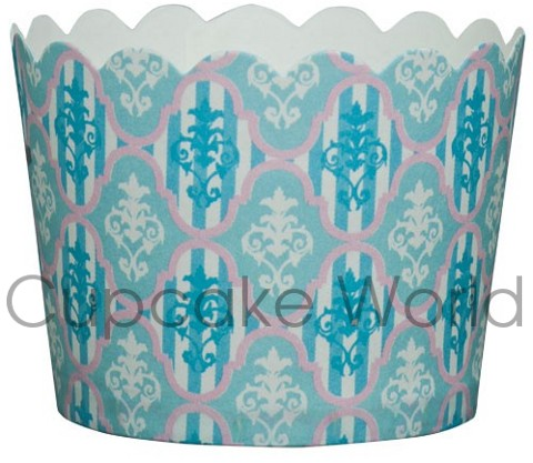 ROBERT GORDON BLUE DELILAH CUPCAKE BAKING CUPS PETIT 25PCS