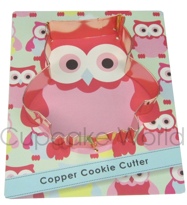 ROBERT GORDON OWL VINTAGE COPPER COOKIE BISCUIT CUTTER