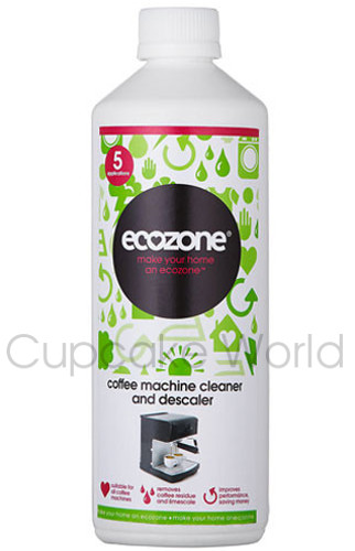 500 ml ECOZONE COFFEE MACHINE CLEANER DESCALER REMOVE LIMESCALE