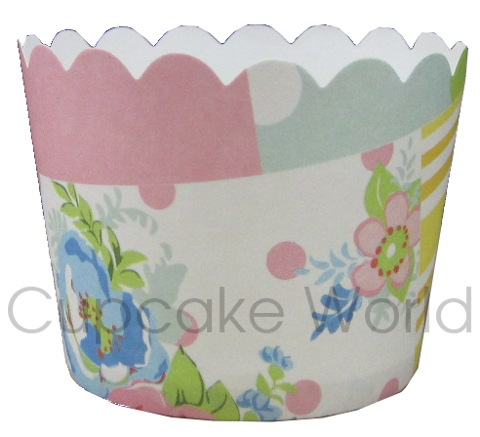 ROBERT GORDON QUILT PATCHWORK MUFFIN CUPCAKE CASES PETIT 25PCS