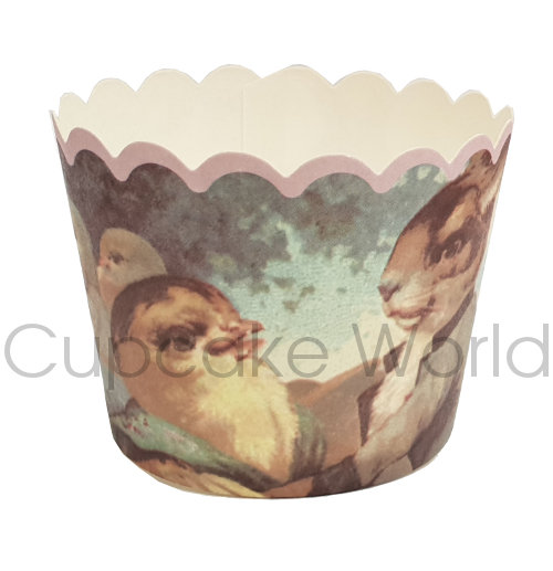 ROBERT GORDON RABBIT HARE CUPCAKE BAKING CUPS PETIT 25PCS