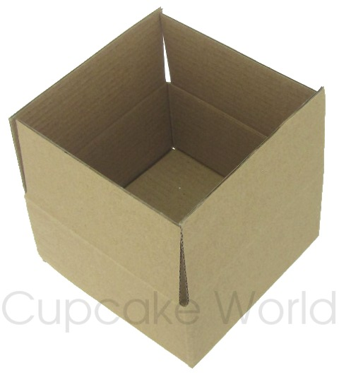MINI BROWN GIFT PACKAGING MAILING BOX