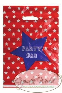 ROBERT GORDON RED BLUE SUPERSTAR PARTY LOLLY GOODIE BAG