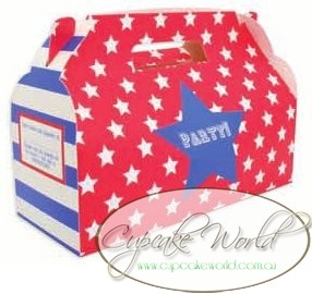 ROBERT GORDON RED BLUE SUPERSTAR PARTY TREATS BOX 10PK