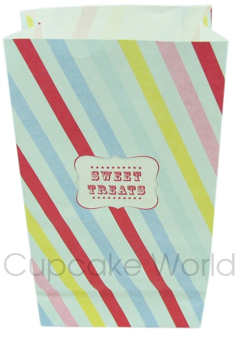 ROBERT GORDON LITTLE CIRCUS PARTY TREATS LOLLY PAPER BAG x12